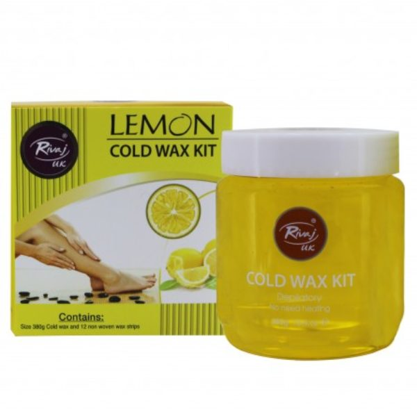 Rivaj Uk Lemon Cold Wax Kit - 380G
