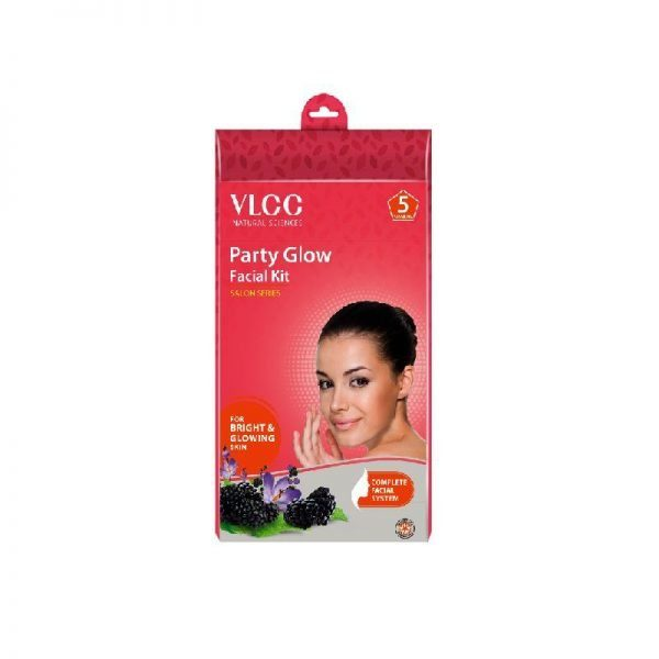 VLCC Party Glow Facial Kit 5 Session New Packaging 1X5