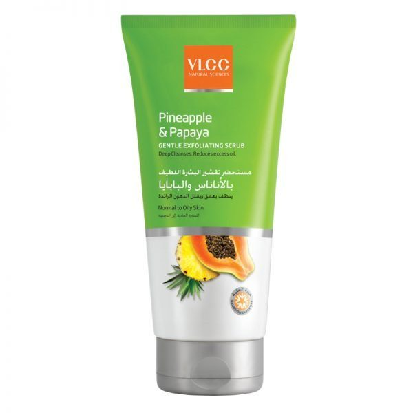 VLCC Pineapple & Papaya Gentle Exfoliating Scrub 1X50Ml