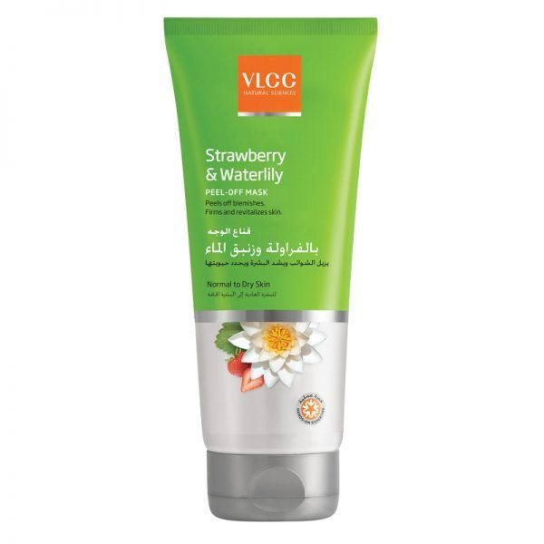 VLCC Strawberry & Waterlillly Peel-Off Mask 100Ml
