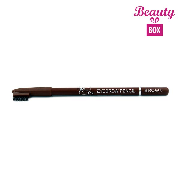 Rivaj UK Eyebrow Pencil With Comb - Brown
